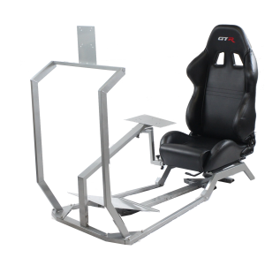 GT Model with Mounts for Controls, Pedals and Display Adjustable Leatherette Seat – Color Options Available