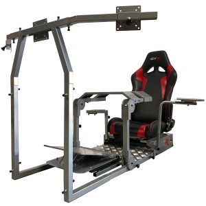 New GTA Pro Simulator (Silver) – The Latest in Sim Racing – Seat Color Options Available – IN STOCK NOW