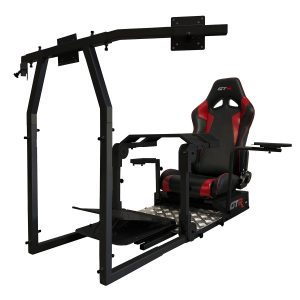 New GTA Pro Simulator (Black) – The Latest in Sim Racing – Seat Color Options Available – TAKING PREORDER NOW (Ship date 1/1/2020)